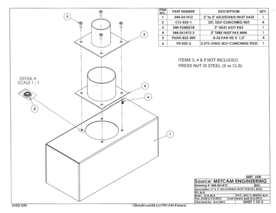 Fume Extractor Fume Hoods | Fumex, Inc.